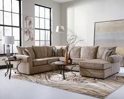 standard neo sectional in brown