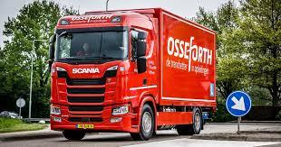 Scania is aanwezig met drie trucks van de new generation scania's (ngs). New Generation Scania S410 Rijdend Visitekaartje Bij Osseforth Scania Nederland