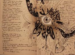 philosophy notebook page by tooxicpanda posted at deviantart