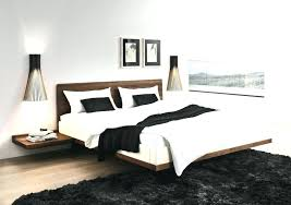 Platform bed with floating nightstands Queen Platform Bed Floating Nightstands Solid Wood Teak With King Fl Home And Living Blog Online Interior Bed With Floating Nightstands Tocinc