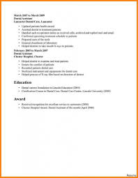 Resume For Dental Assistant Job Dental Assistant Resume Profile Qualifications Professional 42