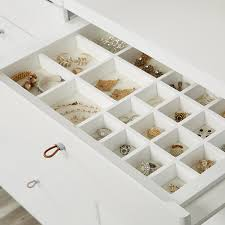 White drawer front Bodbyn Roll Over To Zoom The Container Store White Elfa Décor Accessory Tray Drawer Frame Front The Container