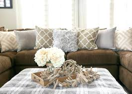 blue and brown decor decor to match brown leather sofa grey walls brown couch brown couch