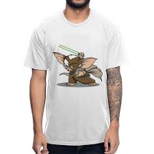 Mogwai Design Us 10 89 43 Off Leisure Master Mogwai Gremlins Gizmo T Shirt For Male Novelty Design 100 Cotton T Shirt In T Shirts From Mens Clothing On