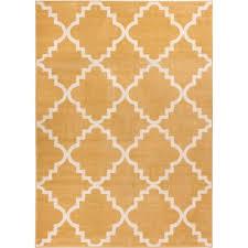 well woven sydney lulu s lattice trellis gold 2 ft x 4 ft modern area