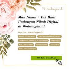 Langkah mudah pembuatan undangan pernikahan online. Contoh Undangan Pernikahan Bali Weddingku Id