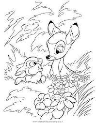 Disegno Bambi30 Personaggio Cartone Animato Da Colorare
