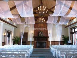 ceiling treatments wedding planning decor in jacksonville