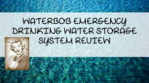 are you interested in storing drinking water in your home but don t have enough space take a look at the water bob here to see how it works in our