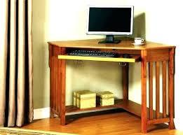 medium size of corner computer desk brown black workstation in sand granite charcoal bestar hampton prestige