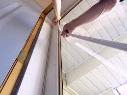 reinstall the glass panel