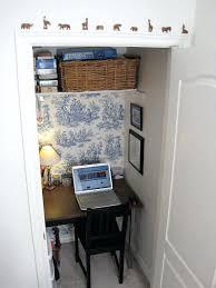 closet office ideas desk ingenious