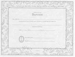 Baptism Certificate Online Store Baptism Certificate Wording Ucc
