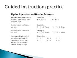 Alabama State Course of study standard: Solve addition and ...