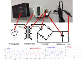 ac dc converters disassembling a linear power supply full ac adaptor circuit and schematic