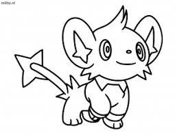 Pikachu Kleurplaat