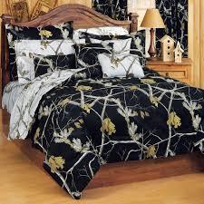 Camouflage forter Sets King Size Realtree AP Black forter