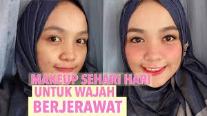 cara makeup natural untuk wajah berjerawat you premium