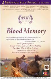 Blood Memory Screening | Minnesota State University, Mankato