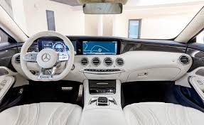 2018 mercedes benz s550. exellent mercedes 2018 mercedesamg sclass coupe dashboard with mercedes benz s550