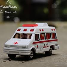1 64 alloy car model 120 ambulance kids toys collection decoration metallic material gifts that