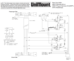 62917 western unimount hb 1 headlight harness kit dodge ram 99 and Western Plow Wiring Diagram Ford 62917 western unimount hb 1 headlight harness kit dodge ram 99 and snow plow wiring diagram