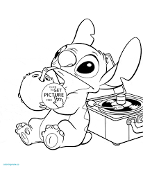 lilo and stitch coloring pages new disney in