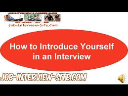 Interview Introduction How To Introduce Yourself In Interviews