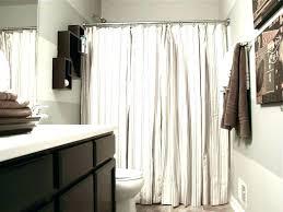 elegant tie back shower curtains grey dye curtain tie back shower curtain with valance ruffled double swag backs light curtains bathroom ruf