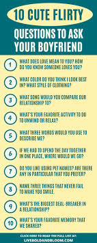 101 flirty questions to ask a guy