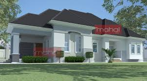 house plans with photos of interior and exterior unique 4 bedroom bungalow plan in nigeria 4