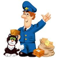 Small Picture postman pat Coloring Kids