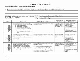Sample Personal Action Plan Mini Business Plan Template Lovely Personal Action Plan Samples 6