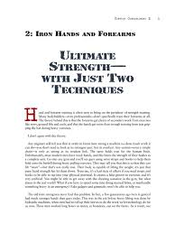 Convict Conditioning 2 Iron Hands And Forearms Pdf Archive