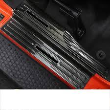 <b>lsrtw2017</b> fiber <b>leather</b> car seat anti kick mat for jeep wrangler JL ...