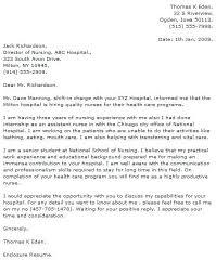 Cover Letter Examples For Healthcare Jobs Nursing Cover Letter
