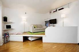 raised floor bed. Wonderful Bed Sliding Bed Or On Rollers And Corner Shelves Are Space Saving Ideas  For Small Rooms Decorative Raised Floor  On Raised Floor Bed M