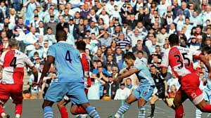Manchester City vs QPR 2011-'12 Sergio Aguero WON THE CHAMPHIONSHIP WITH  THIS GOAL - YouTube