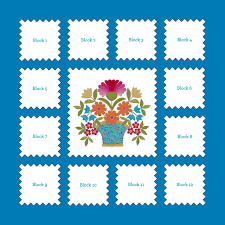 Announcing Florabunda: Block of the Month - One Piece at a Time & I am happy to announce my very first, all designed by me, Block of the Month  Quilt. Starting next week I will be posting a quilt pattern each month ... Adamdwight.com