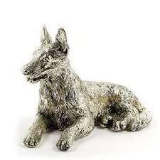 Image result for silver dog figurine