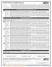 Bank Registration Form Fill Online Printable Fillable