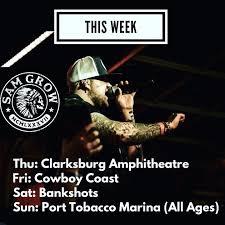 Clarksburg Amphitheater Seating Chart Sam Grow Tour Dates 2019 Concert Tickets Bandsintown
