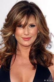 Mid Length Layered Hairstyles For Thick Hair Hair Styles Bangs