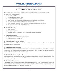 research assignment on communication 3 4 effective communication