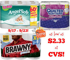 Quilted Northern, Brawny, and Angel Soft Coupon Deal at CVS & Quilted Northern ... Adamdwight.com