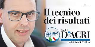 """Mauro D'acri candidato con la lista """"Jole Santelli ..."""