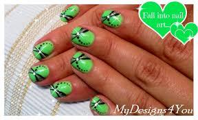 Easy Summer Nail Art for Short Nails ♥ - YouTube