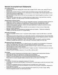 Resume Achievement Examples Achievement Examples for Resume Lovely Resume Achievements Examples 2