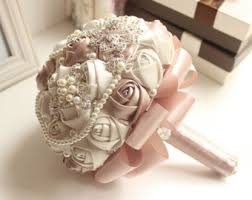 wedding bouquets etsy