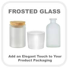 our bottles jars and containers in frosted glass offer an elegant alternative for packaging your s whether you want to add a soft glow to your